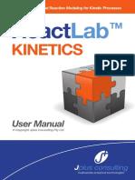 ReactLab Kinetics Manual