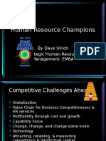 Dave Ulrich-Human Resource Champions