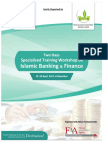 Specialized Training Workshop on Islamic Banking & Finance