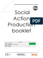 social action booklet new