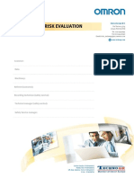 Safety Service - Risk Evaluation - Example PALETTIZER