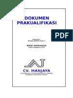 Kualifikasi Manjaya