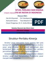 Presentasi SCP Industri Mi Instan Kelompok 1