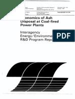 Economy Analysis Coal Ash Handling System
