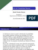 Distribucion de Probabilidad Normal