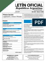 Boletín Oficial de la República Argentina, Número 33.599. 05 de abril de 2017