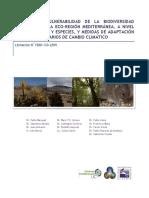 Estudio de Vulnerabilidad de La Biodiversidad