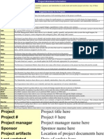 Project Workbook Information