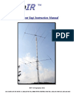 4E Yagi Manual REV 3.0 Sept 20122
