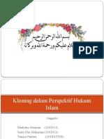 Kloning Dalam Perspektif Hukum Islam