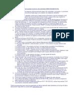 Secuencia de Pruebas EAOM 210 FD FL