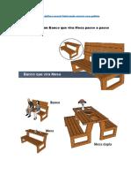 eBook Como Fazer Banco Que Vira Mesa PDF