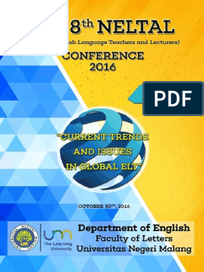 Neltal Proceedings English As A Second Or Foreign Language Second Language Acquisition