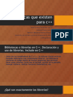 Bibliotecas Que Existen Para c++