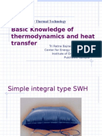 Basic Knowledge of Thermodynamics and Heat Transfer