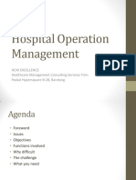 Hospital Operation Management