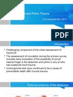 Abdominal and Pelvic Trauma 2017