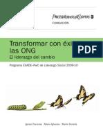 Transformar con éxito las ONG