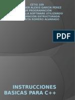 INSTRUCCIONES BASICAS PARA C++