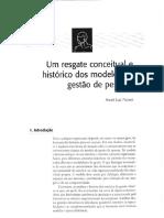 ARTIGO FISCHER Historico Dos Modelos de Gestao de Pessoas