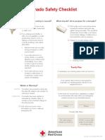 Tornado Safety Checklist - English & Spanish