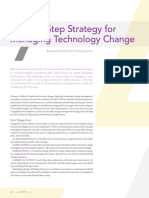 A Seven-Step Strategy for Managing Technology Change