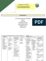 Plan de Aula Ajustado Ciencias Naturales 2011