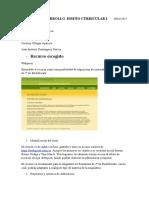 Evaluación de Un Recurso. Desarrollo Curricular 1