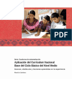 Didactica y Curriculum Nacional Base Nivel Medio