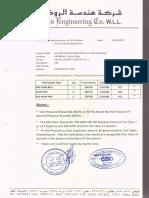 Hydrostatic Test Report