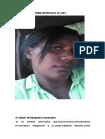 Maria Faña Flores Matricula 16