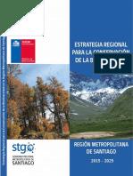Estrategia Regional Para La Conservación de La Biodiversidad RMS