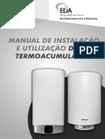Manual de Instalação - Termoacumulador