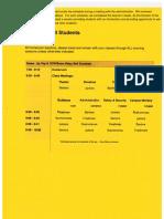 first day orientation schedules