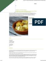 Frittierte Frischkäsebällchen Mit Oliven Rezept
