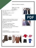 Acheter Un Vêtement Au Magasin