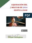Liquidación Del Gasto Militar de 2014