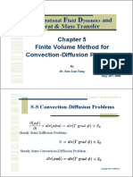 CFD 2006- Chapter 5 FVM for Convection-Diffusion Problem
