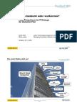 Stark bedeckt oder wolkenlos? Cloud Computing in der IT-Strategie der Deutschen Post (Konferenzvortrag CloudConf 2009)