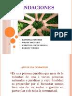 Presentacion de Fundaciones
