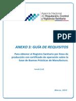 IE-D.1.1.-ALI-03-Anexo 3. Guia de Requisitos Para Obtener El RS Por Linea de Produccion Con Certificado BPM