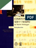Rivera, J. & Stuven, M. T. - Comentario a Ser y Tiempo de Martin Heidegger. Vol. I.pdf