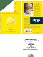 Aivanhov Mikhael Omraam - Centres Et Corps Subtils - Aura Plexus Solaire Centre Hara Chakras