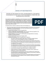 1c Terms of Reference