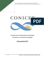 Instructivo Ingresos CIC 171