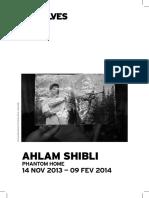 Ahlam Shibli - Phantom Home