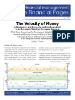 2009 April the Velocity of Money