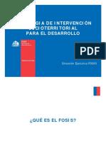 Estrategia de Intervención Territorial. Andrés Santander