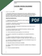 Plan de Accion Escuela Saludable Final