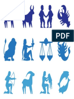 FreeVector Zodiac Signs Silhouettes